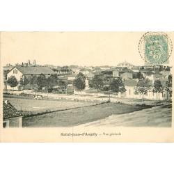 17 SAINT-JEAN-D'ANGELY. Vue sur la Ville 1905