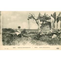 MILITAIRES & SOLDATS 1914-18. Cavalier Spahi en reconnaissance