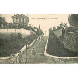 94 LE PERREUX SUR MARNE. Les Cent Marches 1912