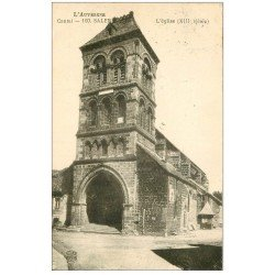 carte postale ancienne 15 SALERS. L'Eglise 1927