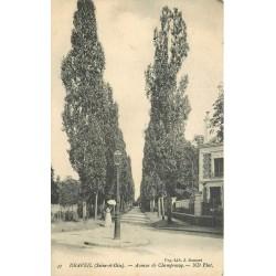 91 DRAVEIL. Avenue de Champrosay