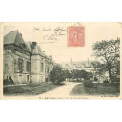 36 LEVROUX. Château de Romsac 1905