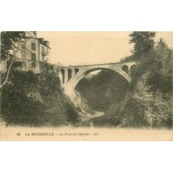 2 x Cpa 63 LA BOURBOULE. Pont du Charlet et Route du Barrage