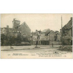 carte postale ancienne 02 SOISSONS. Place Saint-Pierre