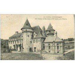 carte postale ancienne 15 SOURNIAC. Le Château près Mauriac 1923