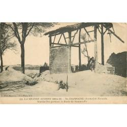 51 Ferme de Navarin. Sentinelles gardant la Route de Somme-Py