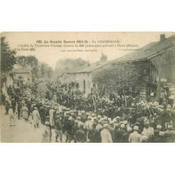 51 HANS. Convoi 400 prisonniers du Combat de Ville-sur-Tourbe