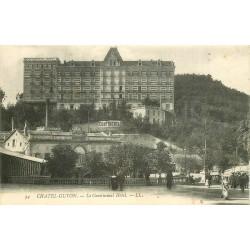 2 x Cpa 63 CHATEL-GUYON. Continental Hôtel et Concentration