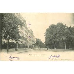 2 x Cpa 94 SAINT-MANDE. Chaussée de l'Etang et Kiosque à musique 1905