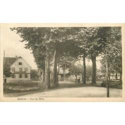 67 RHINAU. Vue du Rhin avec Auberge