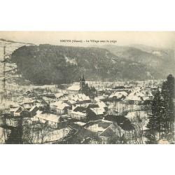 68 KRUTH. Le Village sous la neige