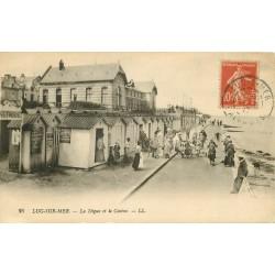 14 LUC-SUR-MER. Digue et Casino vers 1917