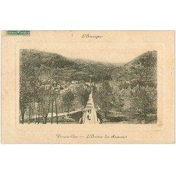 carte postale ancienne 15 VIC-SUR-CERE. L'Avenue des Sources. Edition Rispal