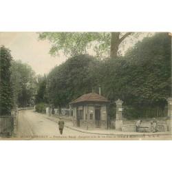 95 MONTMORENCY. Fontaine René et Octroi 1906