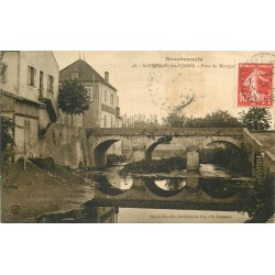 03 SAINT-GERMAIN-DES-FOSSES. Café et Pont de Mourgan