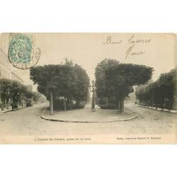 91 CHATOU. Entrée de la Ville prise de la Gare 1904