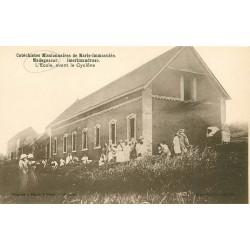 MADAGASCAR. Imerimandroso l'Ecole avant le Cyclône des Missionnaires