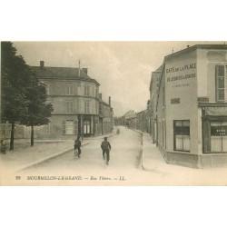 51 MOURMELON-LE-GRAND. Café de la Place rue Thiers 1916