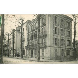 03 VICHY. Hôtel d'Amérique Hôpital temporaire 1915