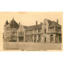 03 NERIS-LES-BAINS. La Gare 1936