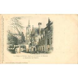 29 CONCARNEAU. Le Château de Kériolet de la Comtesse de Chauveau