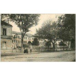 carte postale ancienne 16 ANGOULEME. Ecole Normale et Professionnelle d'Institutrices 1908