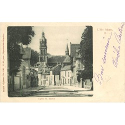 95 L'ISLE ADAM. Eglise Saint-Martin 1902