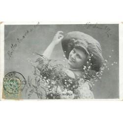 Spectacle artistes. LUCY NANON 1906 Chanteuse Cabaret