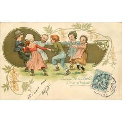 BELLE JARDINIERE 2 rue du Pont Neuf à Paris 1904 Jeux d'enfants la Ronde