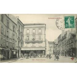 94 FONTENAY-SOUS-BOIS. Place d'Armes Imprimerie et Grand Hôtel Restaurant