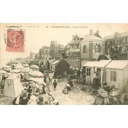 2 x Cpa 14 VILLERS-SUR-MER. Heure du Bain et Villa Chateaubriand 1904