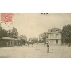 2 x Cpa 14 VILLERS-SUR-MER. Place du Rond-Point et Plage 1904