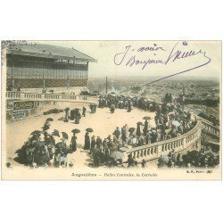 carte postale ancienne 16 ANGOULEME. La Corbeille des Halles Centrales 1906