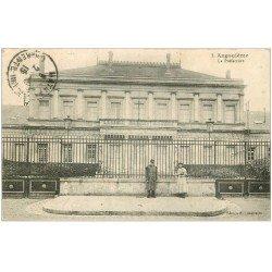 carte postale ancienne 16 ANGOULEME. La Préfecture 1915