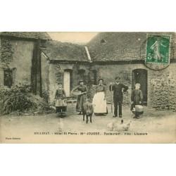 72 MELLERAY. Hôtel Restaurant Vins Liqueurs Saint-Pierre tenu par Jousse 1913