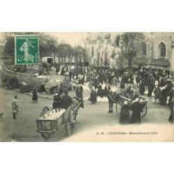 79 THOUARS. Marché aux Oies Place Saint- Laon 1908