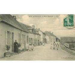 71 AVRILLY. Rue Genève 1912 éditeur François à Marcigny