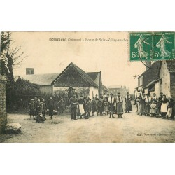 80 BOISMONT. Route de Saint-Valéry-sur-Somme 1911