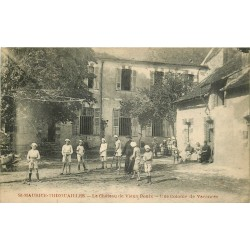 89 SAINT-MAURICE-THIZOUAILLES. Colonie de Vacances Château de Vieux Poulx