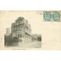 2 x Cpa 14 VILLERS-SUR-MER. Villa Phébus et Jeux sur la Plage 1904