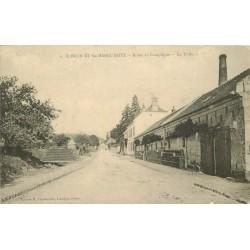 2 x Cpa 60 ELINCOURT-SAINTE-MARGUERITE. La Tuilerie route de Compiègne et le Prieuré 1912