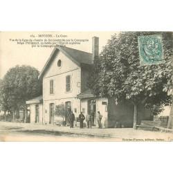 08 MOUZON. La Gare 1904