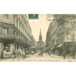 75015 PARIS. Eglise Saint-Jean-Baptiste de Grenelle 1912