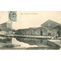 60 SENLIS. Les Dos d'Ane femme avec brouette 1905