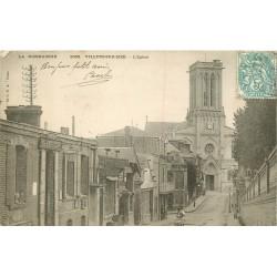 2 x Cpa 14 VILLERS-SUR-MER. Ancienne Poste et Promenade des Planches rue Trouville 1904