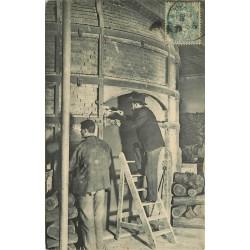 92 SEVRES. Four en activité Manufacture Nationale de Porcelaine 1912