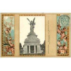 carte postale ancienne 16 ANGOULEME. Monument aux Militaires 1907. Collection Nouvelles Galeries
