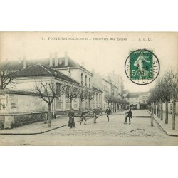 94 FONTENAY-SOUS-BOIS. Boulevard des Ecoles 1908