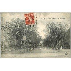 carte postale ancienne 16 ANGOULEME. Place de la Commune 1911
