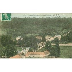 78 MILON-LA-CHAPELLE. Vue panoramique du Village 1909